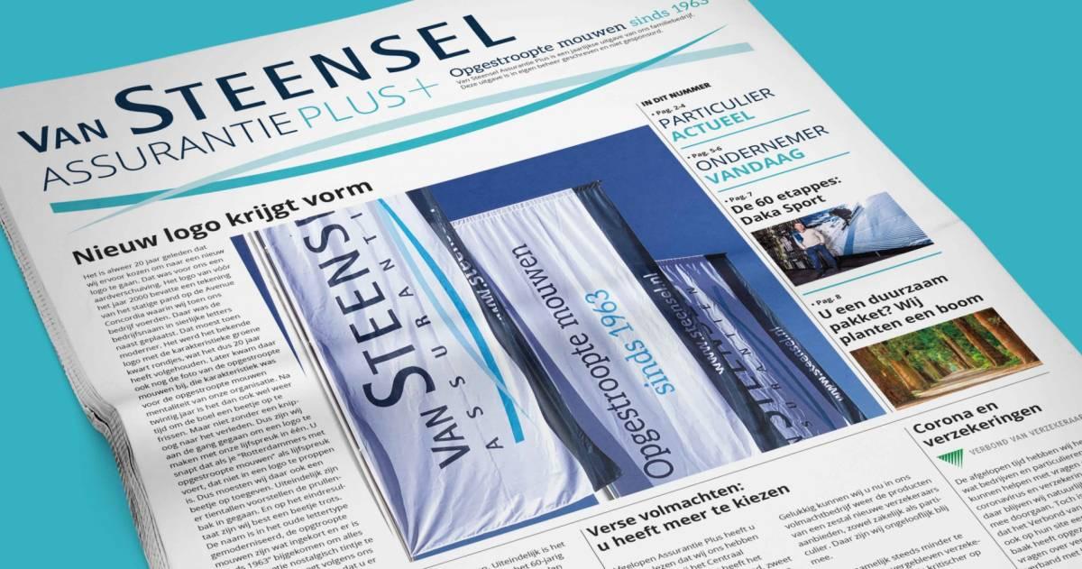 Van Steensel - krant